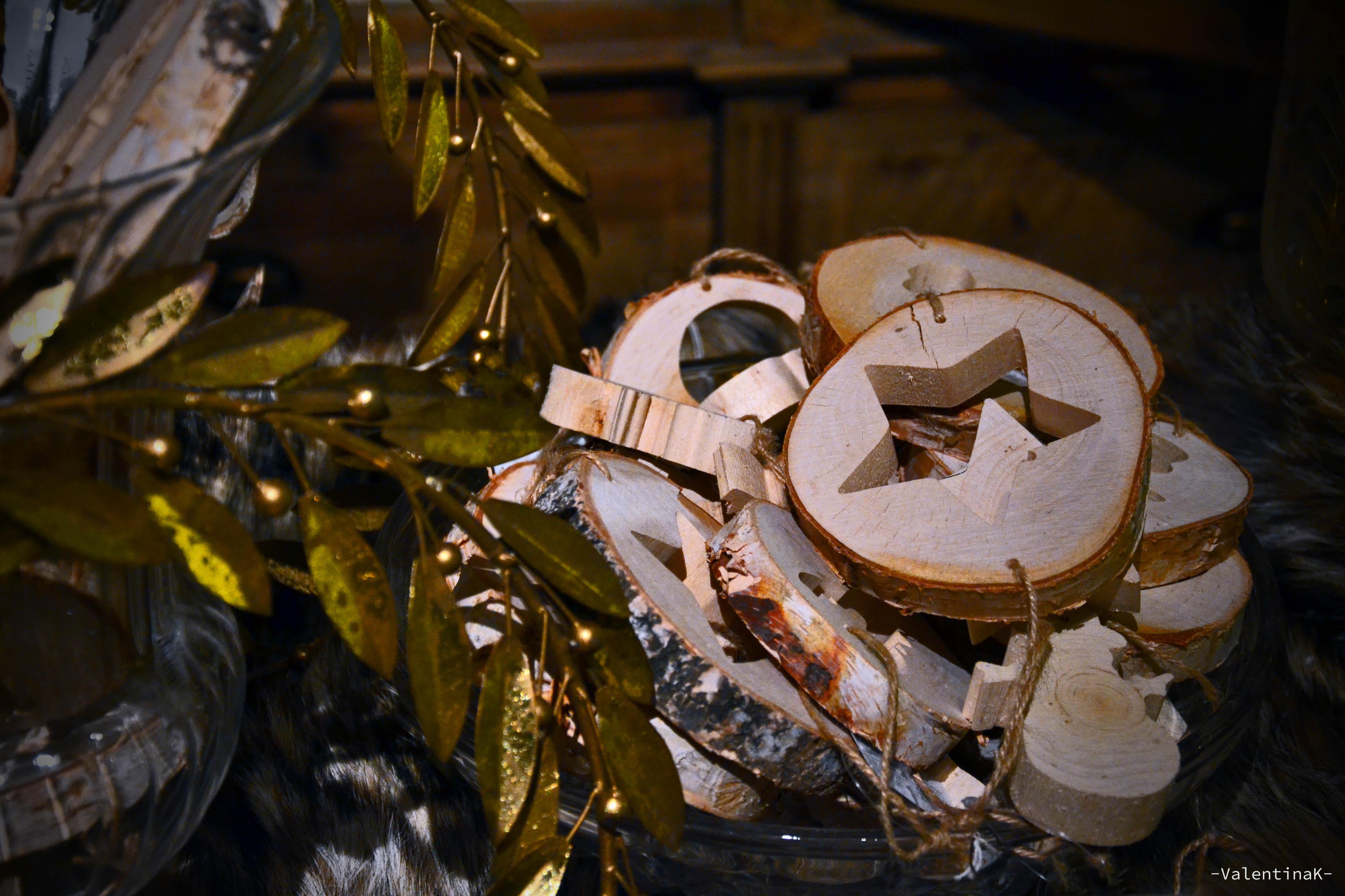 Decorazioni legno palline natale kilig - Decorazioni legno ...