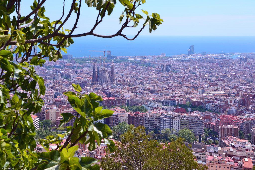 Panorama su Barcellona